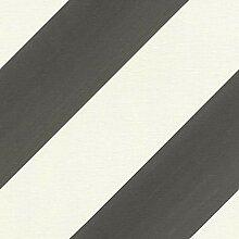 Rasch Tapeten Vliestapete (grafisch) Schwarz Weiß