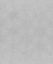Rasch Tapeten Vliestapete (Grafisch) Silber 10,05
