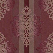 Rasch Textil Deha opulente Tapete Barock Streifen