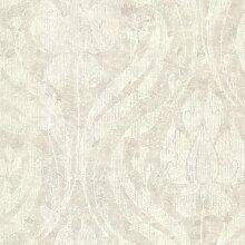 Rasch Textil Vliestapete Onyx Tapete 020034 Barock beige grau