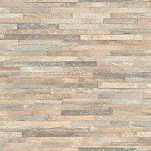 Rasch Vlies Tapete - Größe: 10,05 x 0,53 m - Farbe: beige - Stil: Motiv (modern)