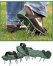 Rasenbelüfter Sandalen Vertikutierer Rasenlüfter