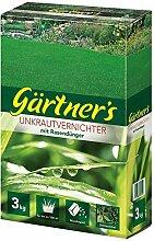 Rasendünger mit Unkraut-Vernichter, 3 kg