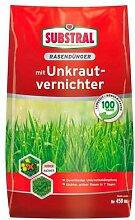 Rasendünger mit Unkrautvernichter für 450 qm, 9