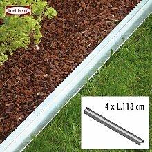 Rasenkante comfort 118 cm, 4-er Set 10092