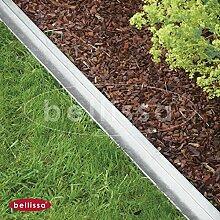 Rasenkante comfort mit Mähkante. 9x118 cm. 3er Se