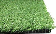 Rasenteppich 3x1m Grün Kunststoffrasen Teppich für Garten Terrasse Balkon Wintergarten Camping