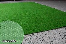 Rasenteppich Kunstrasen Standard grün Velours