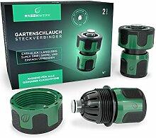 RASENWERK® - Gartenschlauch Steckverbinder mit