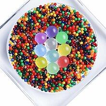 Raspberry Moon Orbeez Perlen (50 gr, Bunt) Wasserperlen Hydroperlen Aquaperlen Aqualinos Gelperlen Wasserkugeln Deko Bewässerung von Pflanzen