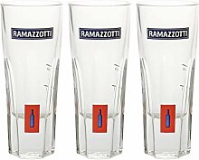 RASTAL Ramazzotti-Glas 3er