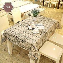 Raster-tischdecke/Kunst Und Einfarbigen Rechteckigen Baumwolltuch/Tischtuch/Tabelle-D 140x180cm(55x71inch)