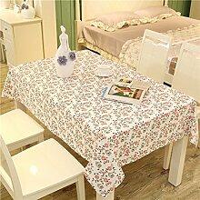 Raster-tischdecke/Kunst Und Einfarbigen Rechteckigen Baumwolltuch/Tischtuch/Tabelle-L 90x90cm(35x35inch)