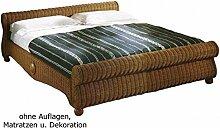 Rattan-Bett Doppelbett Ehebett 4Dreams 180/200 x