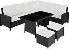 Rattan Lounge Barletta, Variante 1 - Loungemöbel,