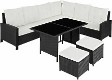Rattan Lounge Barletta, Variante 2 - Loungemöbel,