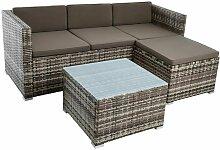 Rattan Lounge Sitzgruppe Gartenmöbel Set Couch