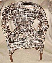 Rattan-Sessel Multicolor Zebra Esszimmersessel