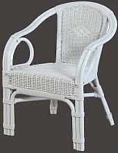 Rattan Sessel NEU in der Farbe weiß
