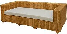 Rattan-Sofa 3-Sitzer LOUNGE aus Rattan