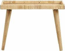 Rattan-Tisch Turn