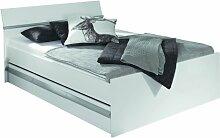 Rauch Bett 160x200 mit Schubladen Weiß, Stellmaß