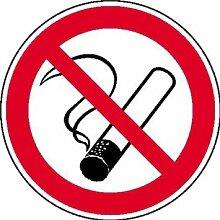 Rauchen verboten Aufkleber Verbotsschild, selbstkl. Folie , ? 40cm
