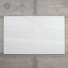 raum-blick Glas Magnettafel MAX 50x30 cm weiß