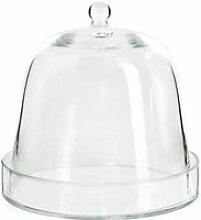 Raumgestalt - Glasglocke mit Glasunterteller