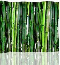 Raumteiler Bamboo mit 5 Paneelen