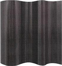 Raumteiler Bambus Grau 250 x 165 cm