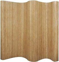 Raumteiler Bambus Natur 250¡Á165 cm