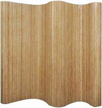 Raumteiler Bambus Natur 250x195 cm 08901 - Topdeal