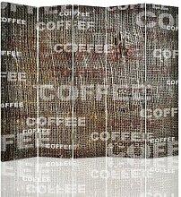 Raumteiler Coffee mit 5 Paneelen
