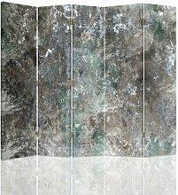 Raumteiler Concrete Wall mit 5 Paneelen