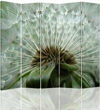 Raumteiler Dandelion mit 5 Paneelen