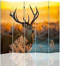 Raumteiler Deer mit 5 Paneelen