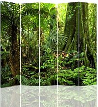 Raumteiler Jungle mit 5 Paneelen