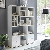 Raumteiler mit Fächern und Schubladen Weiß
