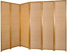 Raumteiler Paravent aus Kiefer Massivholz 245 cm