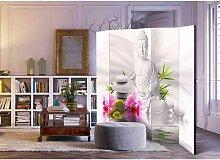 Raumteiler Paravent mit Buddha 5 Elementen