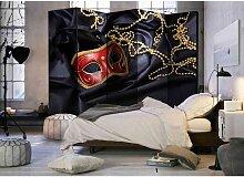 Raumteiler Paravent mit vezianischem Karneval
