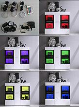 Raumteiler Regal Bücherregal Walnuss Tara, individuelle Planung nach Maß möglich, Typenplan ist hinterlegt
