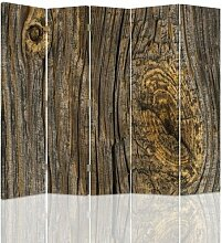 Raumteiler Timber Boards mit 5 Paneelen