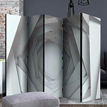 Raumteiler Wand aus fünf Elementen abstraktem