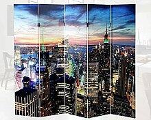 Raumtrenner 180x200 Led Raumteiler New York