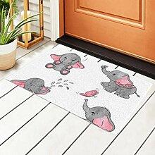 RAUP Indoor Fußmatte Set niedlichen Cartoon Baby