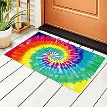 RAUP Indoor Fußmatte Tie Dye Hintergrund