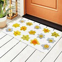 RAUP Innen Fußmatte Frühling Blumen Narzisse