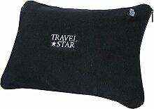 ravelstar: aufblasbares Kissen mit Fleece-Bezug,